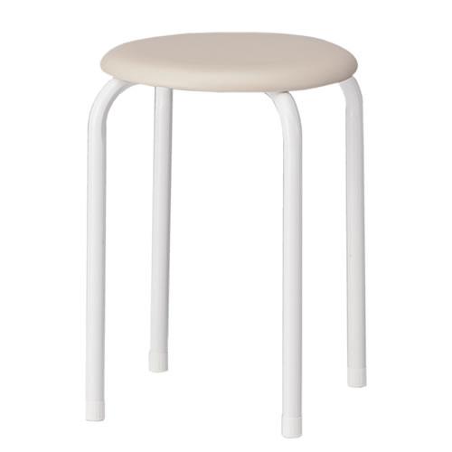 TOKIO 丸椅子 スツール 6脚セット ビニールレザー張り AMM-20-SET
