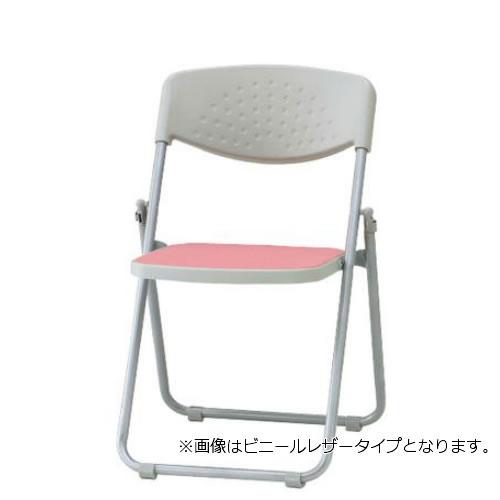 【個人宅配送不可】TOKIO 折り畳みチェア 折りたたみ椅子 イス いす 5脚セット スチール脚 布張り F-900-SET
