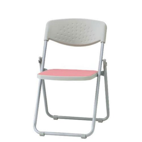 【個人宅配送不可】TOKIO 折り畳みチェア 折りたたみ椅子 イス いす 5脚セット スチール脚 ビニールレザー張り F-900L-SET