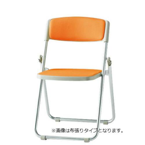 【個人宅配送不可】TOKIO 折り畳みチェア 折りたたみ椅子 イス いす 6脚セット アルミ脚 ビニールレザー張り F-950L-SET