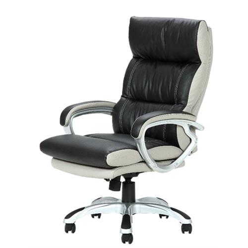 デスクチェア パソコンチェア オフィスチェア 事務椅子 事務用イス 椅子 コイルスプリングOAチェア マリーノBK ブラック FB-94900