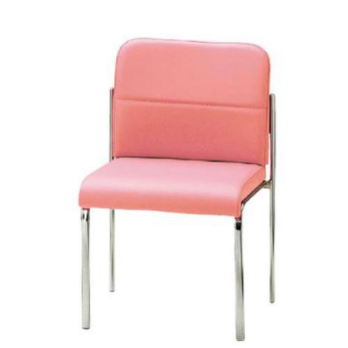 TOKIO ミーティングチェア 椅子 会議用チェア 4本脚タイプ 肘なし ビニールレザー張り 4脚セット FMN-4L-SET