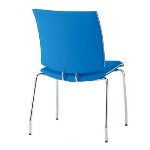 TOKIO ミーティングチェア 椅子 会議チェア 4本脚タイプ 肘なし 布張り FMP-4