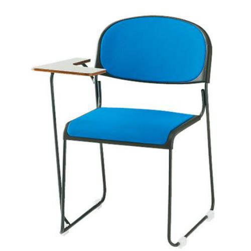 TOKIO 4脚セット 会議椅子 ミーティングチェア 塗装脚テーブル付 布張り FNT-10T-SET