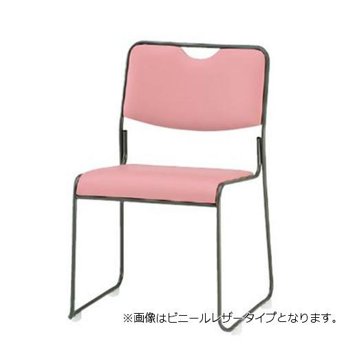 TOKIO 会議椅子 4脚セット ミーティングチェア 塗装脚 肘なし 布張り FSC-25T-SET