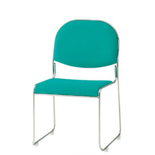 TOKIO 会議椅子 4脚セット ミーティングチェア スタッキングチェア 布張り FSC-30-SET