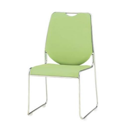 TOKIO 会議椅子 4脚セット ミーティングチェア スタッキングチェア ビニールレザー張り FSC-50L-SET