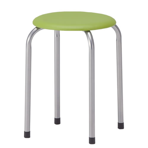 TOKIO 丸椅子 スツール 6脚セット ビニールレザー張り M-22-SET