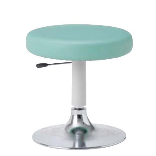 作業用チェア 作業椅子 作業用椅子 丸椅子 丸イス スツール ラージクッションスツール 円盤脚BA-13B