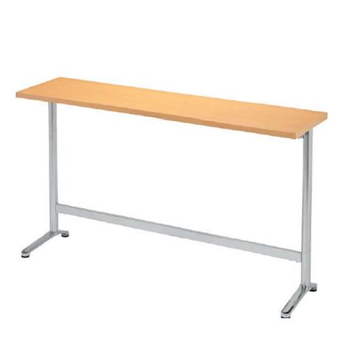 NHD型カウンターテーブル 幅1800 奥行450 高さ1000 T字脚ハイタイプNHD-KH1845