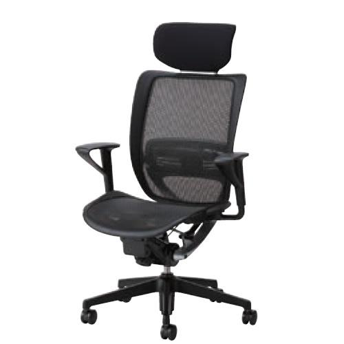 オフィスチェアー オフィスチェア 椅子 エスエフアール チェア SFR CHAIR ヘッド付 座メッシュ 固定肘 SFR-A78