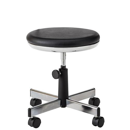 作業用チェアー 作業用チェア 作業椅子 作業用椅子 手動上下調節 TMS型チェア 背パイプ無 キャスター付 TSM-34N