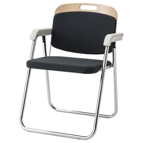 折りたたみチェア 折りたたみ椅子 イス いす WBF型 木製背折りたたみチェア 肘付き WBF-333