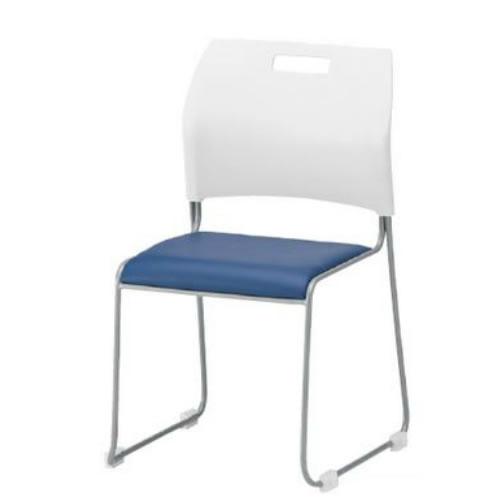 TOKIO 4脚セット 会議椅子 ミーティングチェア 背シェル ホワイト NSC-50L-SET