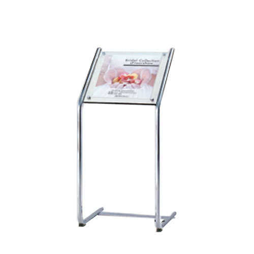 オカムラ サインスタンド 514W面板アクリル透明 L06FBF-Y601
