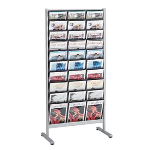 オカムラ L959シリーズ パンフレットスタンド パンフレットラック ディスプレイラック 雑誌架 エントランス オフィス家具 3列 4判30スポット L959XC-Z637