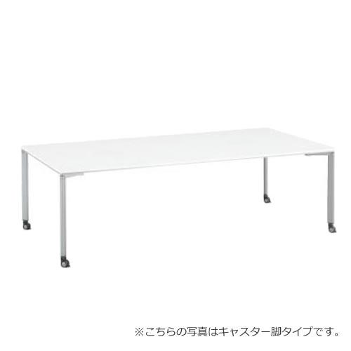 コクヨ ワークソートWORKSORTシリーズ 机 テーブル スタンダード12タイプ 幅2400×奥行1200 SD-WSC2412