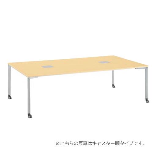 コクヨ ワークソートWORKSORTシリーズ 机 テーブル スタンダード ディープ タイプ 幅2400×奥行1400 SD-WSC2414