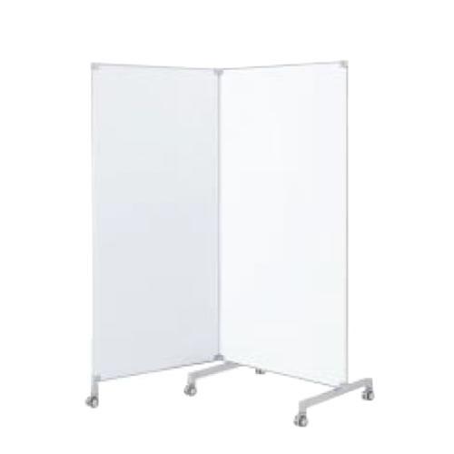 コクヨ ワークフィットWORKFIT テーブル オプション ホワイトボードスクリーン2連タイプ高さ1800ミリ SN-LP182WNN