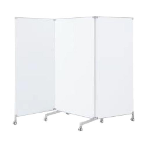 コクヨ ワークフィットWORKFIT テーブル オプション ホワイトボードスクリーン3連タイプ高さ1800ミリ SN-LP183WNN