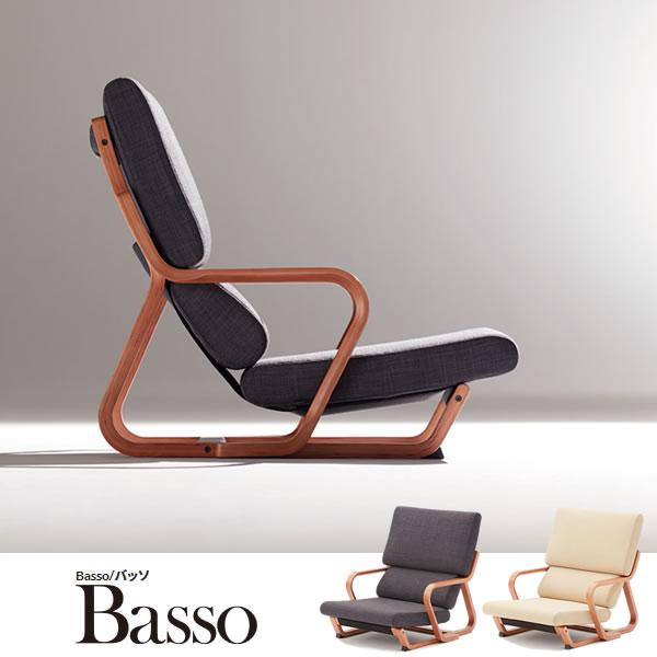 オカムラ 木製 ウッドフレーム シンプル 低座シーティング 座椅子 低座椅子 低座 座イス 座いす パーソナルチェア 椅子 イス 低い いす ローチェア 布張り 肘付き バッソ(Basso) 8CB61A