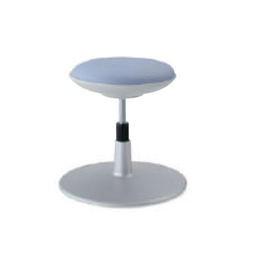 コクヨ 作業用イス 作業椅子 作業用チェア ココット cocotte スツールタイプ ステップなし ホワイトシェル レザー張り 円盤脚 CR-CG540