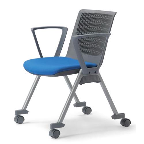 最新の激安 【個人宅配送不可】 4脚セット ミーティングチェア 会議チェア 椅子 アイコMC-554set 会議チェア 4本脚 キャスター付き 肘付き アイコMC-554set 4脚セット, 当麻町:2119b229 --- rayca.xyz