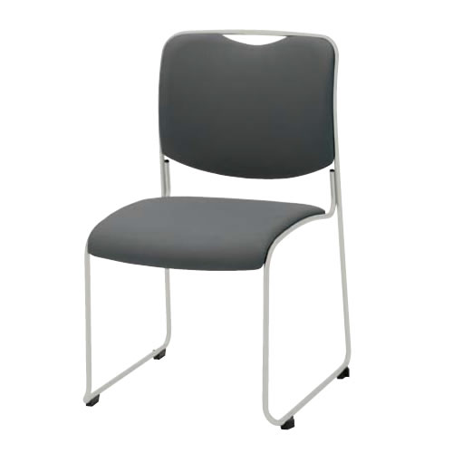 ミーティングチェア 椅子 会議チェア DYMETROL ダイメトロールスタックチェア 布張り 塗装脚 DA-47TC