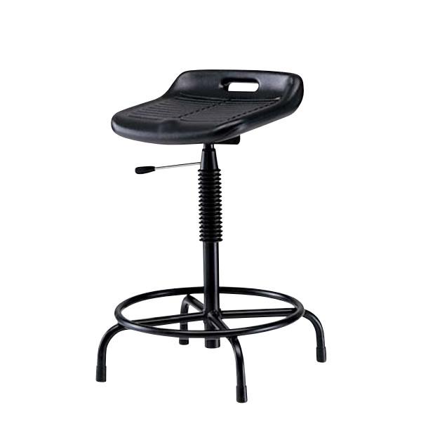 高作業用チェアー 作業用チェア 作業椅子 作業用椅子 ガス上下調節 固定脚 TF-210L