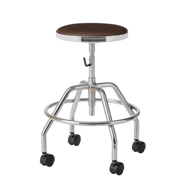 導電チェア 導電チェアー 作業用チェア 作業チェア 作業用椅子 手動上下調節 導電双輪キャスター TG-E2