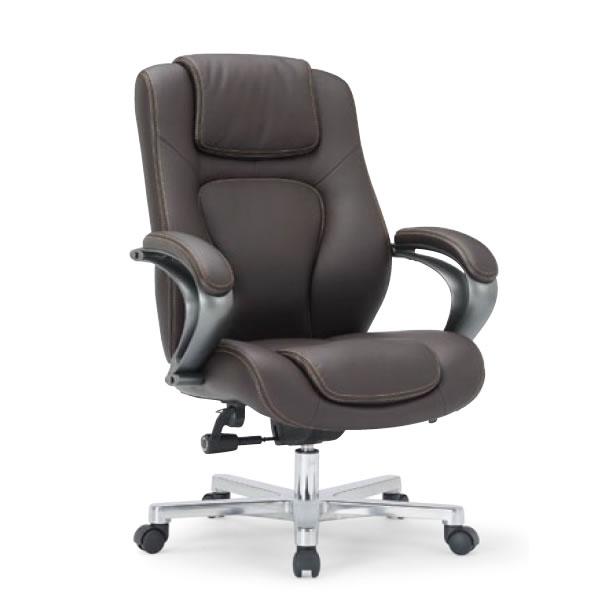 【個人宅配送不可】 アイコ オフィスチェア プレジデントチェア ハイバック 社長椅子 役員用 椅子 肘付き RB-1755
