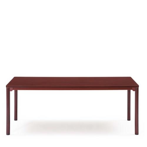 【個人宅配送不可】 アイコ 応接 センターテーブル ラウンドエッジ仕上げ W1800 D750 CTR-1875