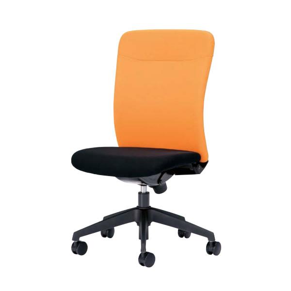オフィスチェア 事務椅子 椅子 ルルティモ LuLutimo ハイバック 肘なし ロッキング任意固定機構 布張り LLS-45