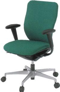 イトーキ オフィスチェア プラオ チェアー 椅子 イス ハイバック アルミ脚 T型肘付 ハンガー付防炎布張りタイプKE-238GEH-Z5