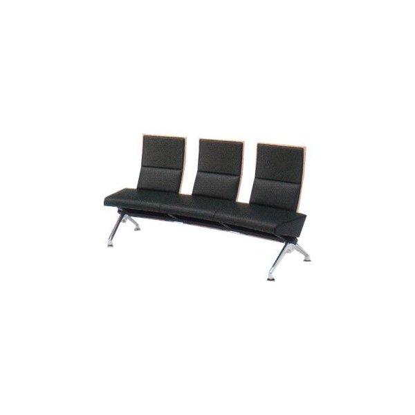 オカムラ ロビーチェア セデオ シリーズ 椅子 布背パッド付 LB24UA-FL