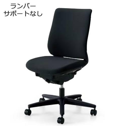 コクヨ オフィスチェア ミトラ チェア ファブリックタイプ スタンダードバック 肘なし ランバーサポートなし 樹脂脚(ブラック) キャスター付き CR-G3300