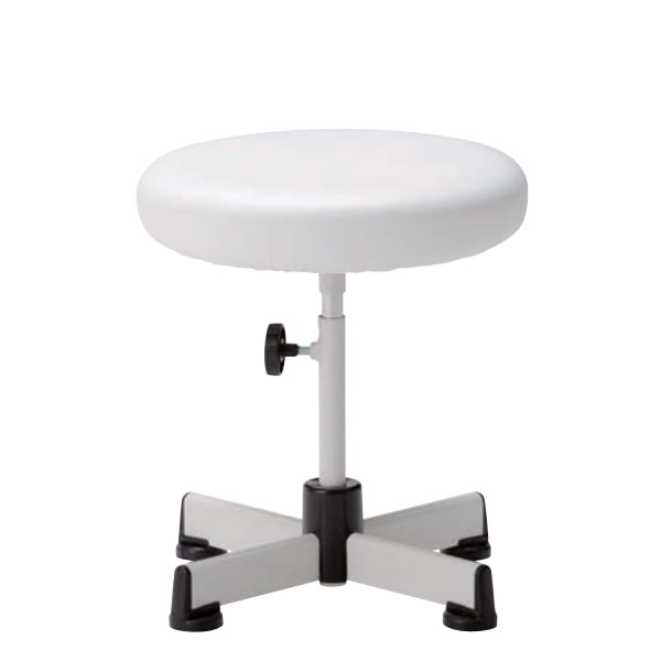 椅子スツール 患者用チェア メディカルチェア キャスターなし固定脚 手動上下調節 WC-N6