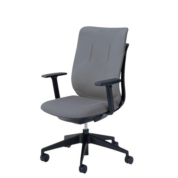 内田洋行 オフィスチェア 事務用チェア 事務椅子 エージェイ チェア アジャスタブル肘 背クロスタイプ 単色タイプ AJA-320BS