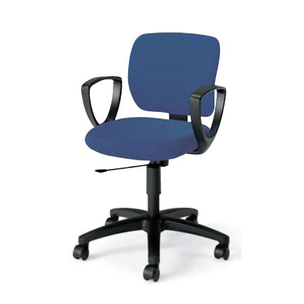 在宅 テレワーク コクヨ オフィスチェア 事務椅子 EAZA イーザ チェア 背総張りタイプ サークル肘付き 背座同色 CR-G183F6