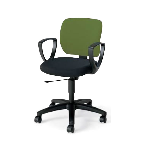 在宅 テレワーク コクヨ オフィスチェア 事務椅子 EAZA イーザ チェア 背総張りタイプ サークル肘付き 背座別色 CR-G183F6C
