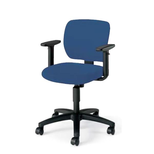 在宅 テレワーク コクヨ オフィスチェア 事務椅子 EAZA イーザ チェア 背樹脂シェルタイプ 背座同色 可動肘付きCR-G191F6