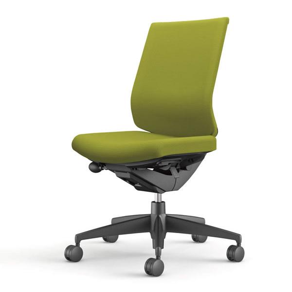 コクヨ 事務椅子 オフィスチェア ウィザード3チェアー ブラック樹脂脚 ローバック 肘なし 布張り CR-G3620