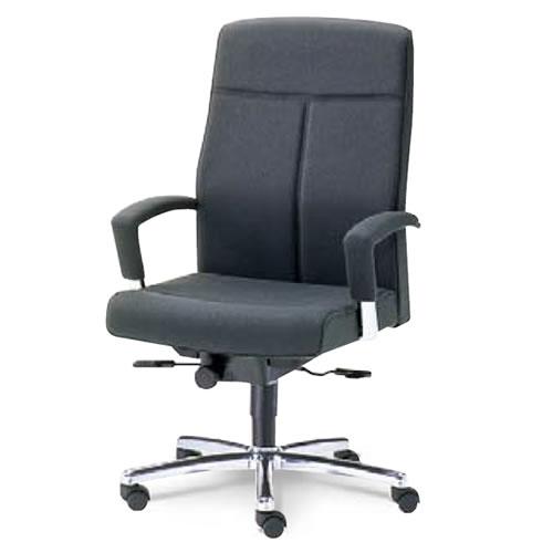 内田洋行 オフィスチェア 事務用 社長椅子 高級チェア ハイバック チェアー EX-300シリーズ チェア オープン肘付 布張り EX-310N