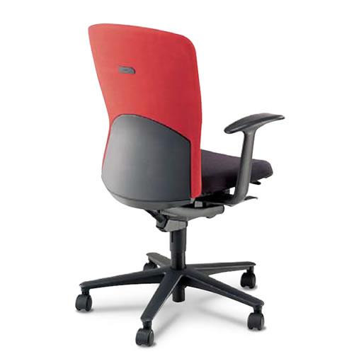 内田洋行 オフィスチェア 事務用イス 事務椅子 ルディオ チェア ハーフカバータイプ ハイバック T型肘 LA2-310C(315C)