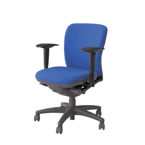 ナイキ オフィスチェアー オフィスチェア 椅子 フィーモ チェアー ローバック 可動肘付 布張り 樹脂脚 ME-511AFN