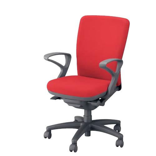ナイキ オフィスチェアー オフィスチェア 椅子 フィーモ チェアー ハイバック 肘付 布張り 樹脂脚 ME-513F