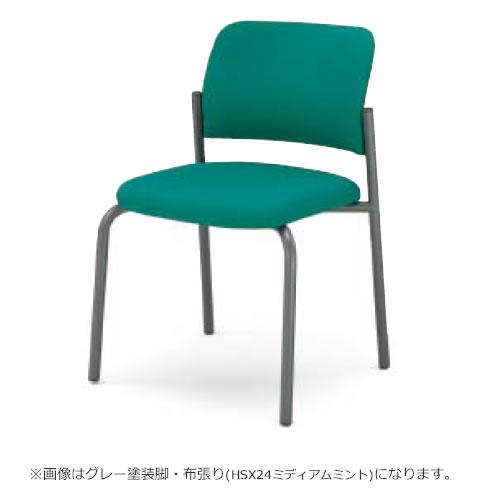 コクヨ ミーティングチェア 会議イス 会議椅子 会議チェアー 100シリーズ シルバー塗装脚 4本脚 肘なし チェア CK-100