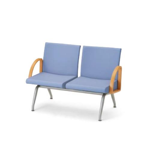 コクヨ ロビーチェア 長椅子 コレッティ シリーズ2人掛けアームチェア CN-422A