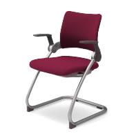 コクヨ 会議椅子 ミーティングチェアー シグザ キャンチレバー脚 肘付き チェア CK-353