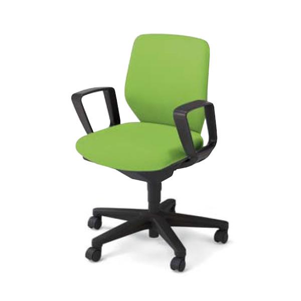コクヨ 事務椅子 オフィスチェア セディスタ チェアー ローバック サークル肘付き CR-G421